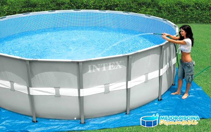 como instalar piscina desmontable