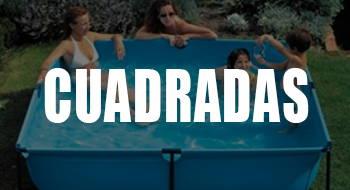 mejores piscinas desmontables cuadradas