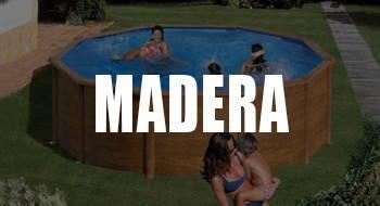 mejores piscinas desmontables de madera