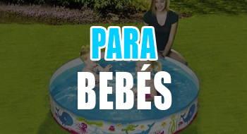 mejores piscinas desmontables para bebes