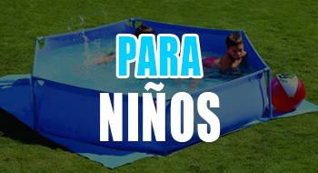 mejores piscinas desmontables para niños