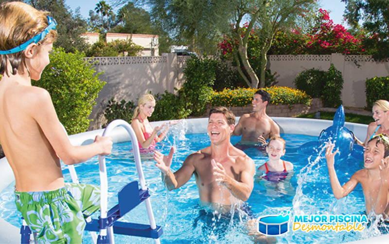 donde ubicar piscina desmontable