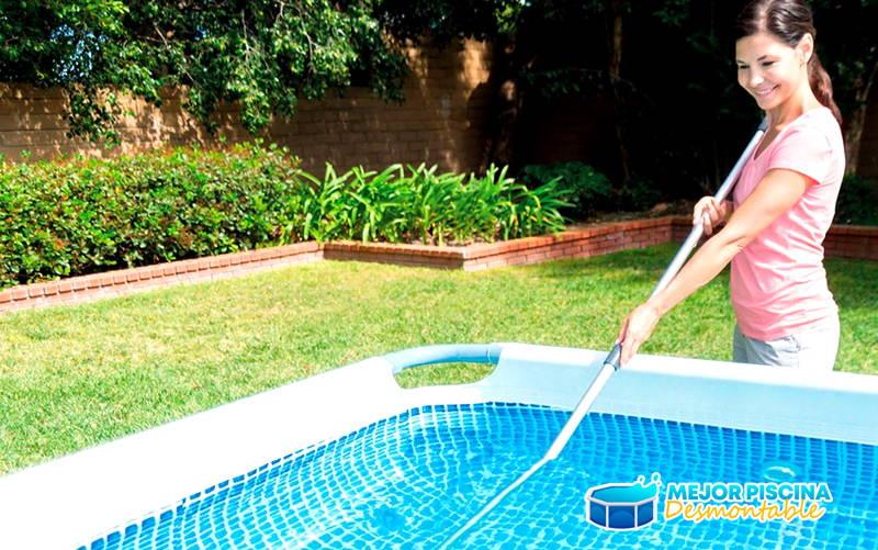limpiar piscina desmontable bestway