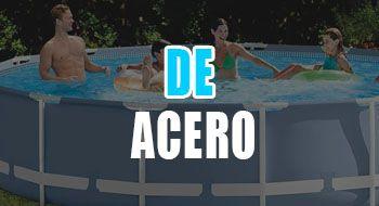 mejores piscinas de acero